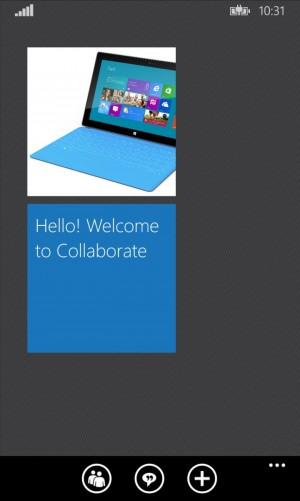 Collaborate for Windows Phone 8.1